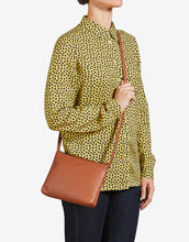 Yoshi Parker Leather Crossbody Bag - Tan