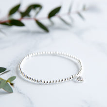 Jolu Jewellery Hollie Pave Heart Bracelet