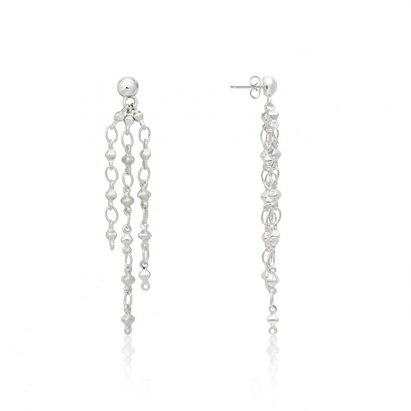 Joma Jewellery Riva Multi Chain Earrings