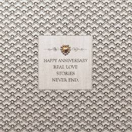 Five Dollar Shake Real Love Stories Never End Anniversary Card