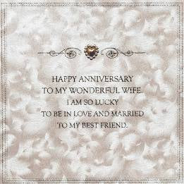 Five Dollar Shake Wife Best Friend Anniversary Card