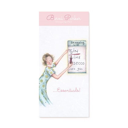 Berni Parker Magnetic Notepad - Gin Essentials