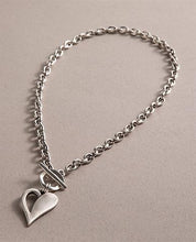 Danon Simply You Open Heart Chunky T-Bar Necklace