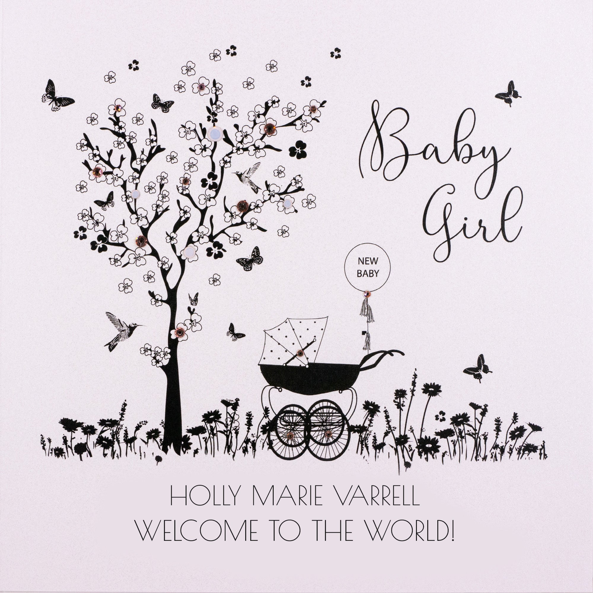Personalised Baby Card (PCBG6) Five Dollar Shake