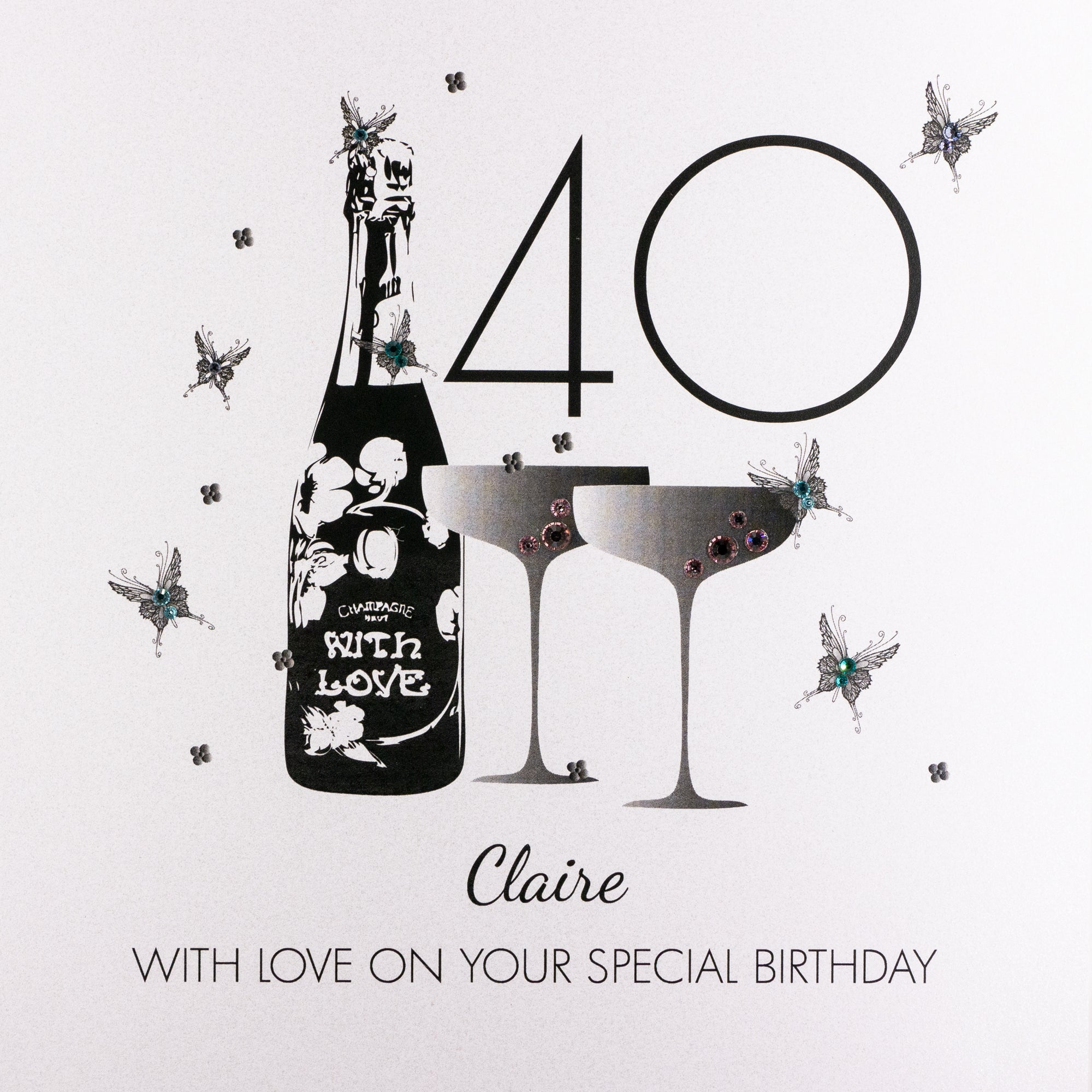 Personalised Birthday Card (PCAB16) Five Dollar Shake