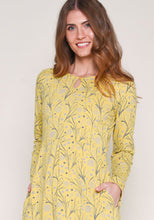 Brakeburn Dandelion Jersey Dress - Yellow
