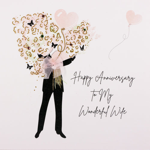 Five Dollar Shake Darling Wife Anniversary Card