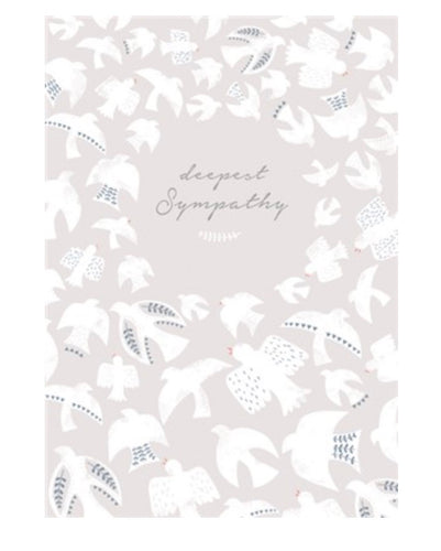 The Art File - Deepest Sympathy Card