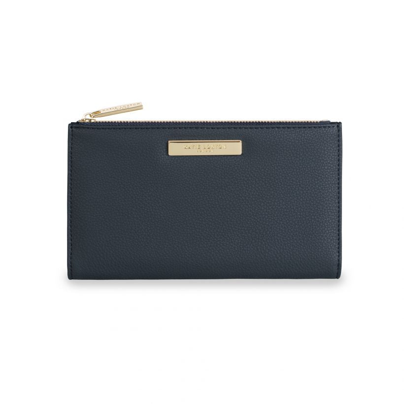 Katie Loxton Alise Pebble Purse - Navy Blue