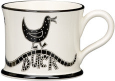 "Moorland Pottery ""Ay up Duck"" Mug"