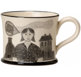 "Moorland Pottery ""Stokie Bird"" Mug"
