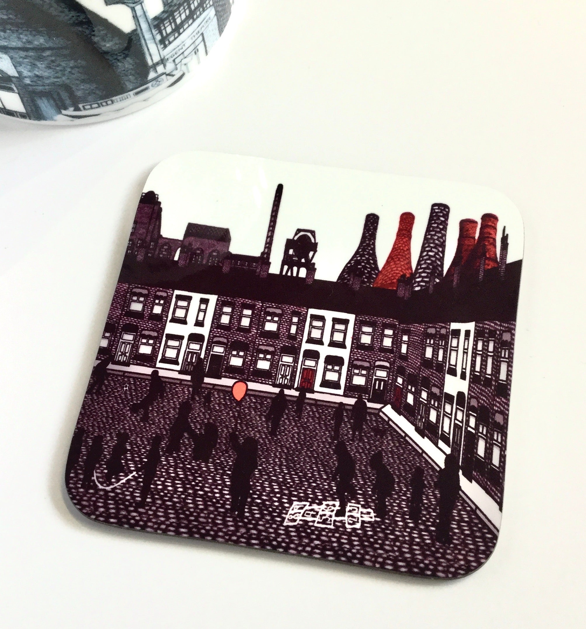 Megan Rose Design Stoke Out to Play Coaster