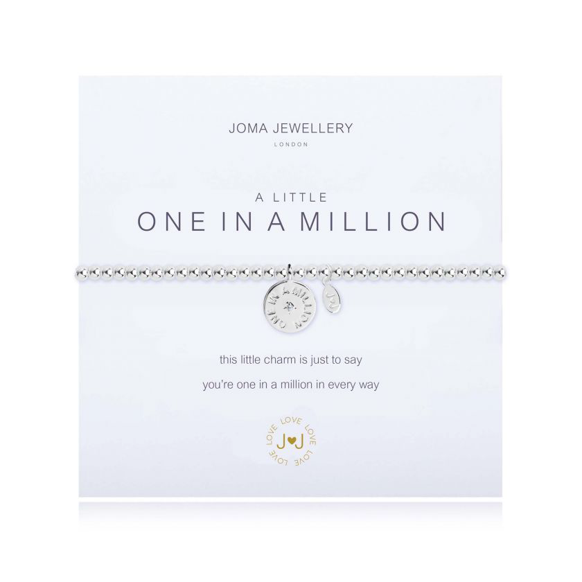Joma Jewellery A Little One in a Million Disc Bracelet