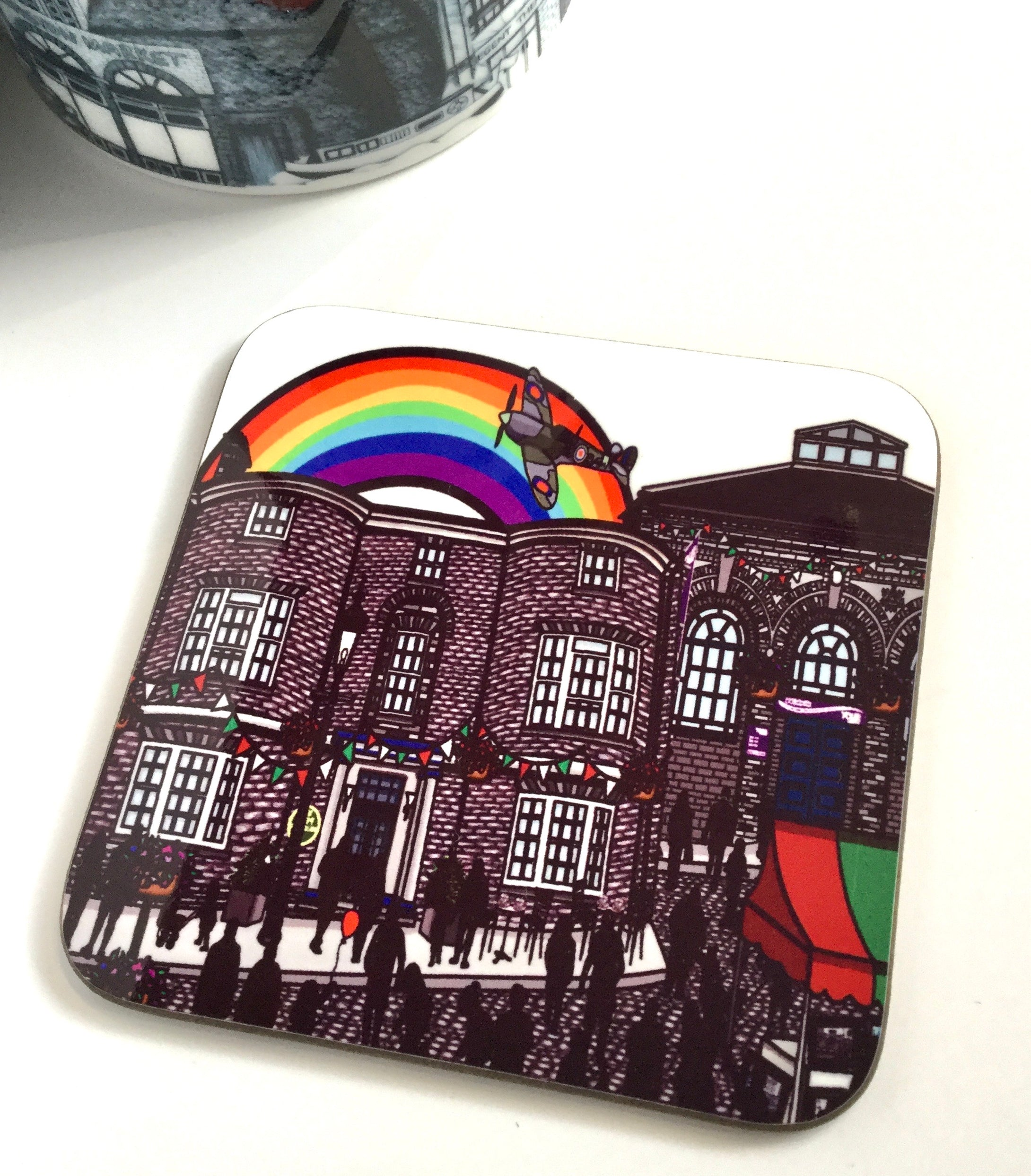 Megan Rose Design Crown Hotel Stone Coaster