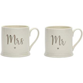 Transomnia Mr & Mrs Mugs