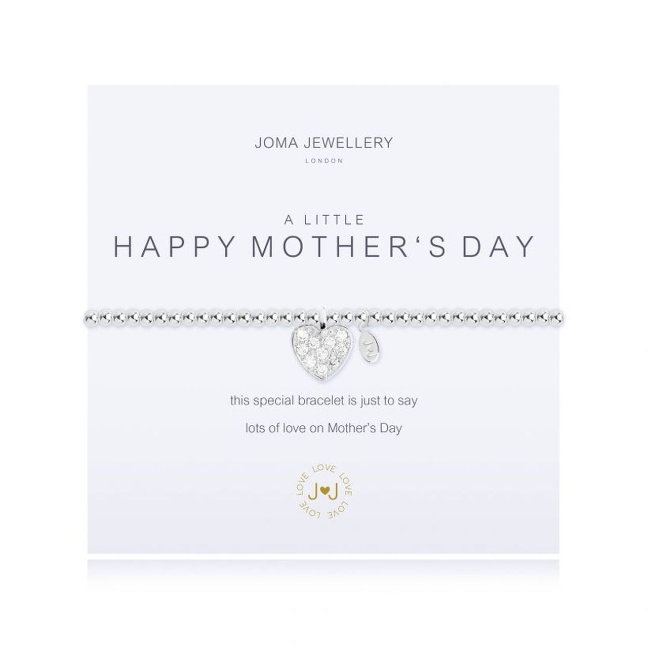 Joma Jewellery A Little Happy Mother's Day Bracelet