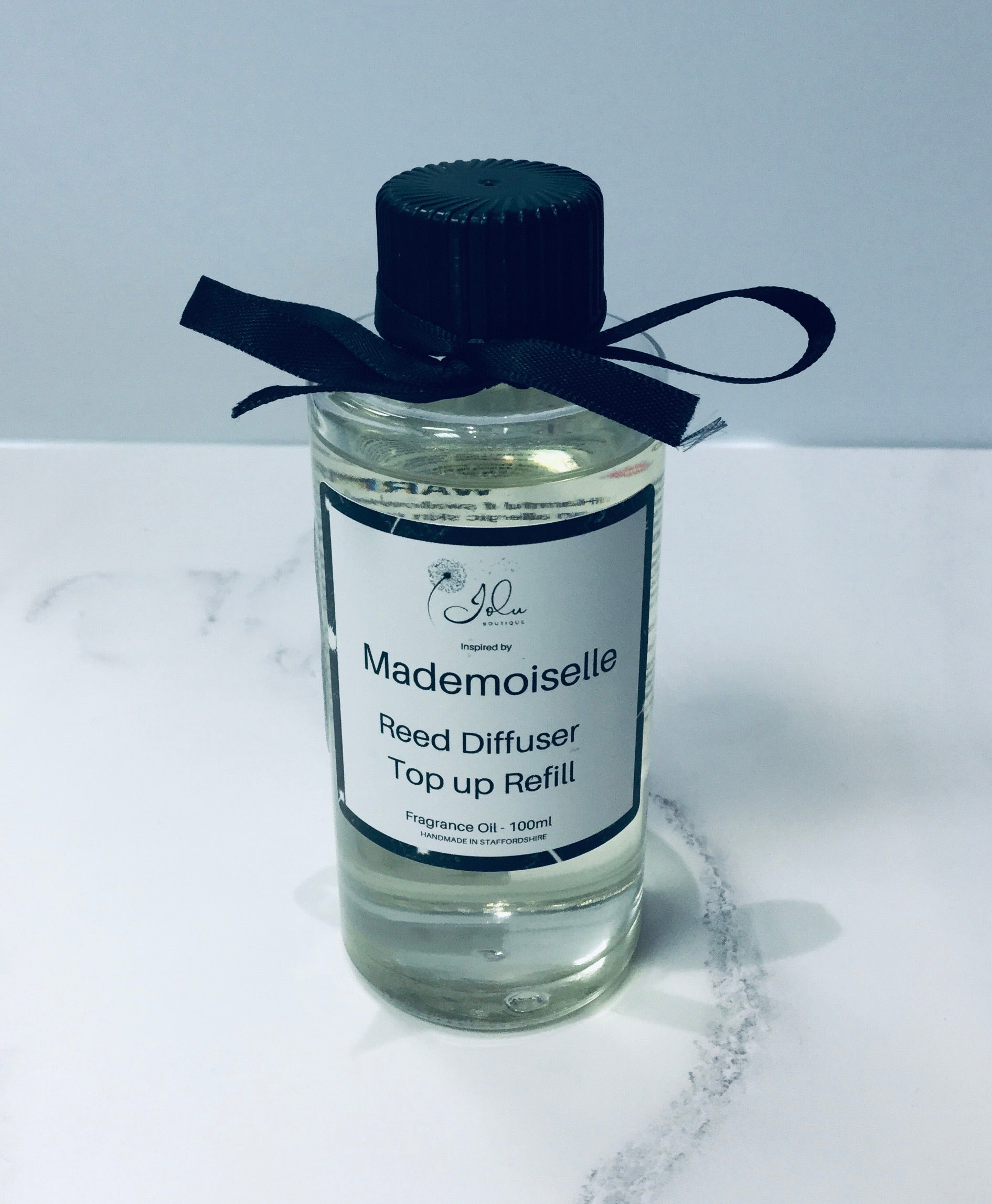 Jolu Boutique Mademoiselle Reed Diffuser Top Up Oil