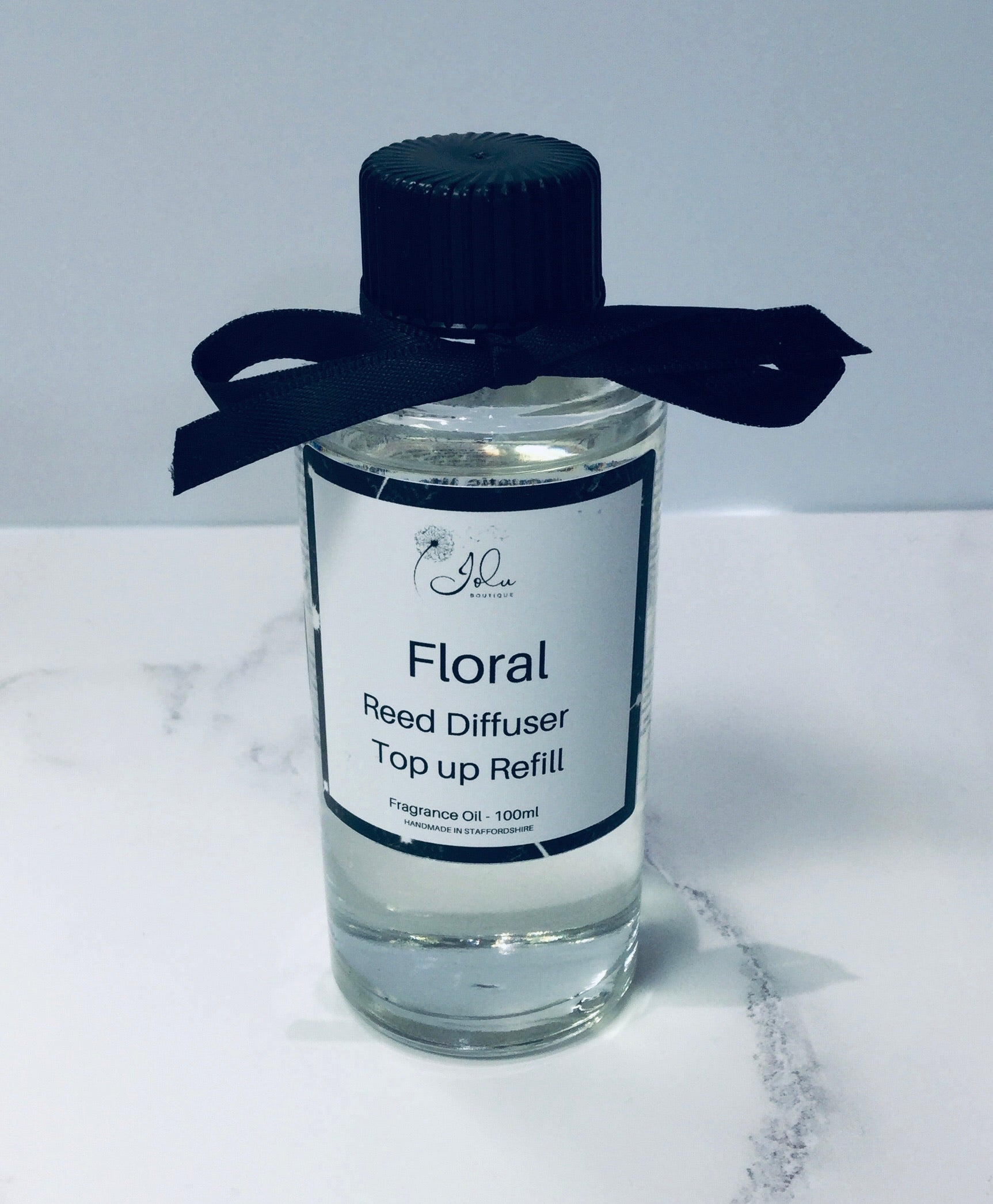 Jolu Boutique Floral Reed Diffuser Top Up Oil