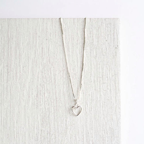 Jolu Jewellery Lexie Heart Pendant