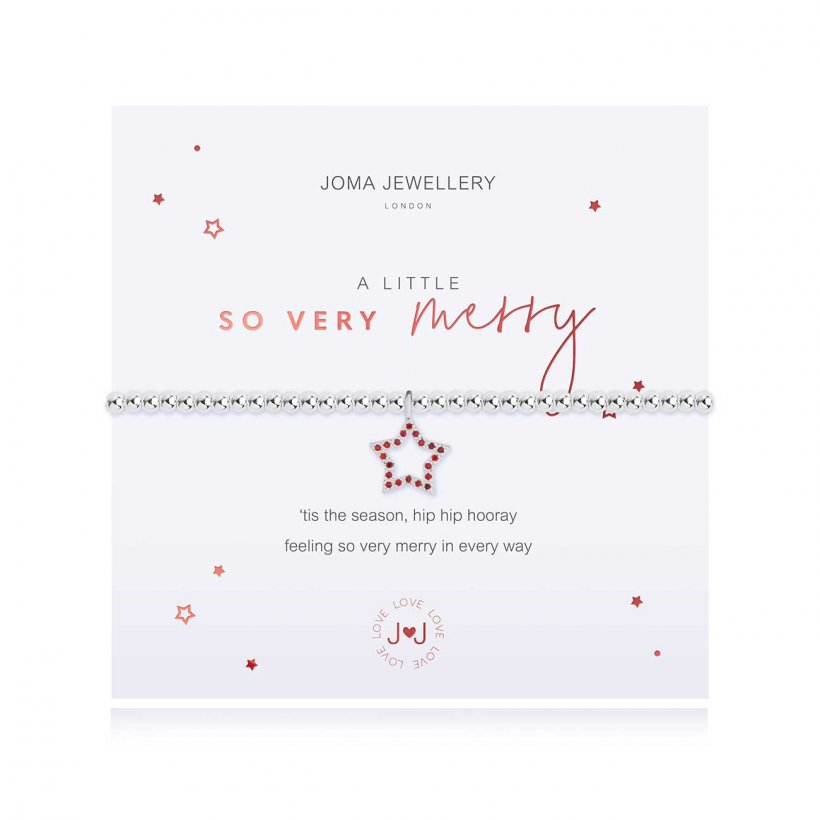 Joma Jewellery A Little So Very Merry Bracelet