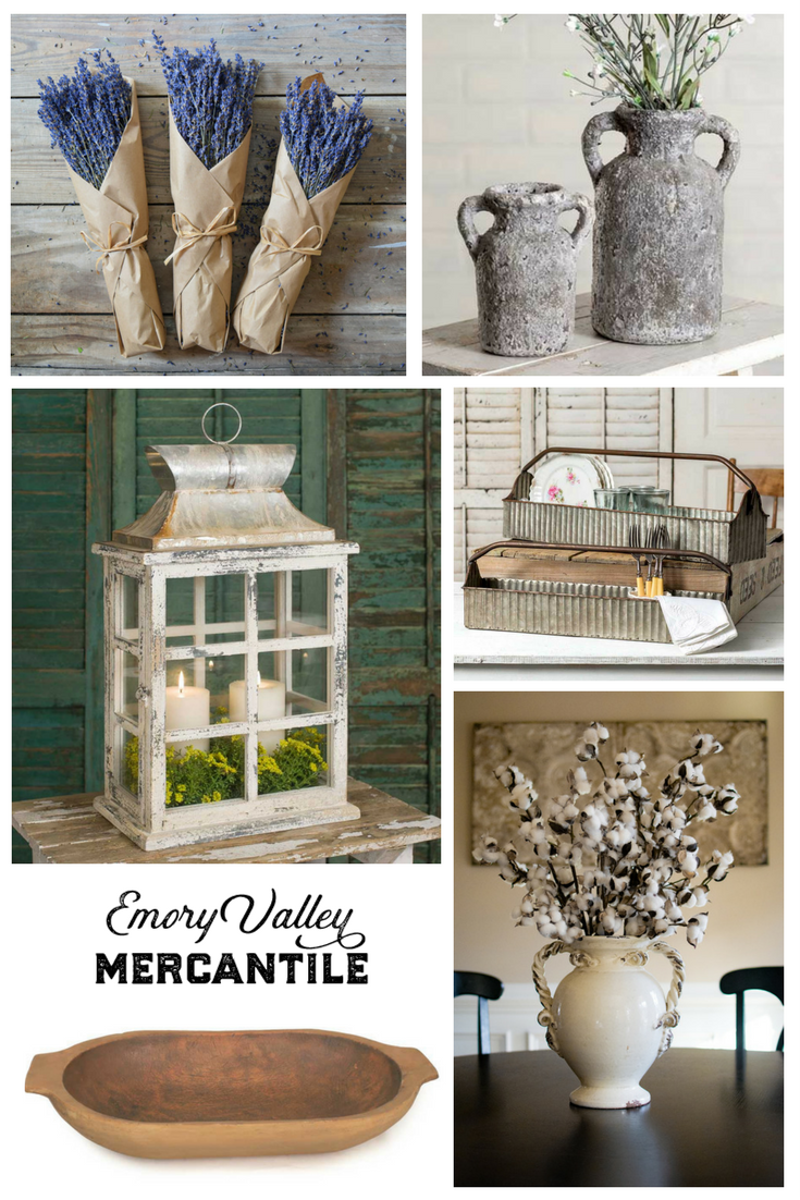 farmhouse and vintage style home decor