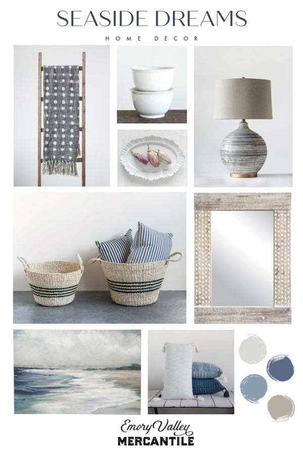 seaside inspired decor