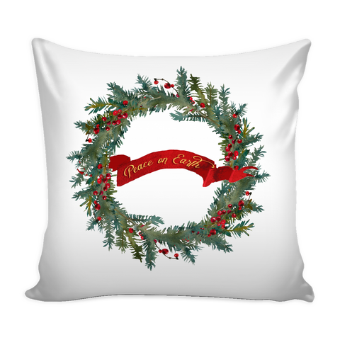 Peace on Earth Pillow Cover