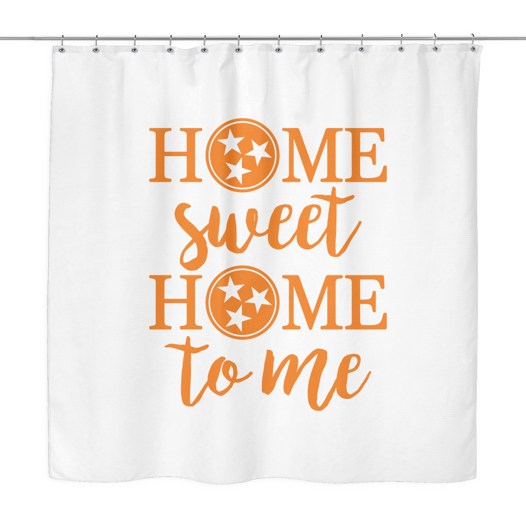 "Tennessee ""Home Sweet Home To Me"" Shower Curtain"