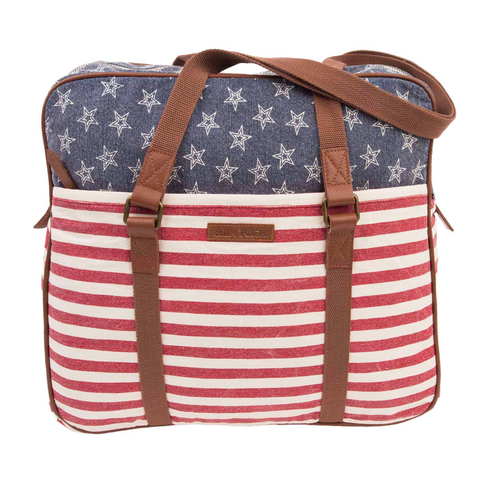 Patriotic Wanderlust Bag Stars & Stripes