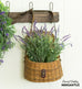 artificial faux lavender spray branch stem bush