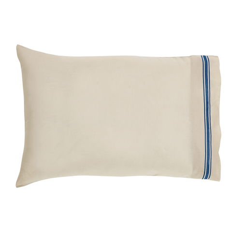 French country stripe pillow case
