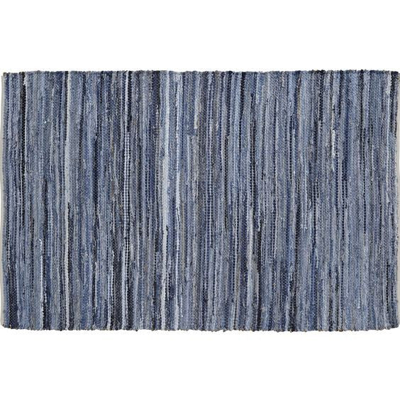 Denim & Hemp Chindi/Rag Rug