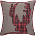 So cozy and charming. This plaid deer pillow is perfect for Christmas