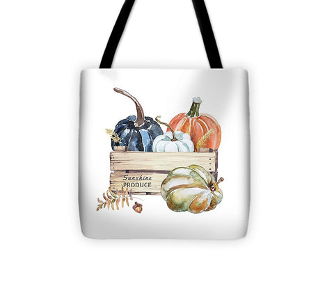 Fall Pumpkins - Tote Bag