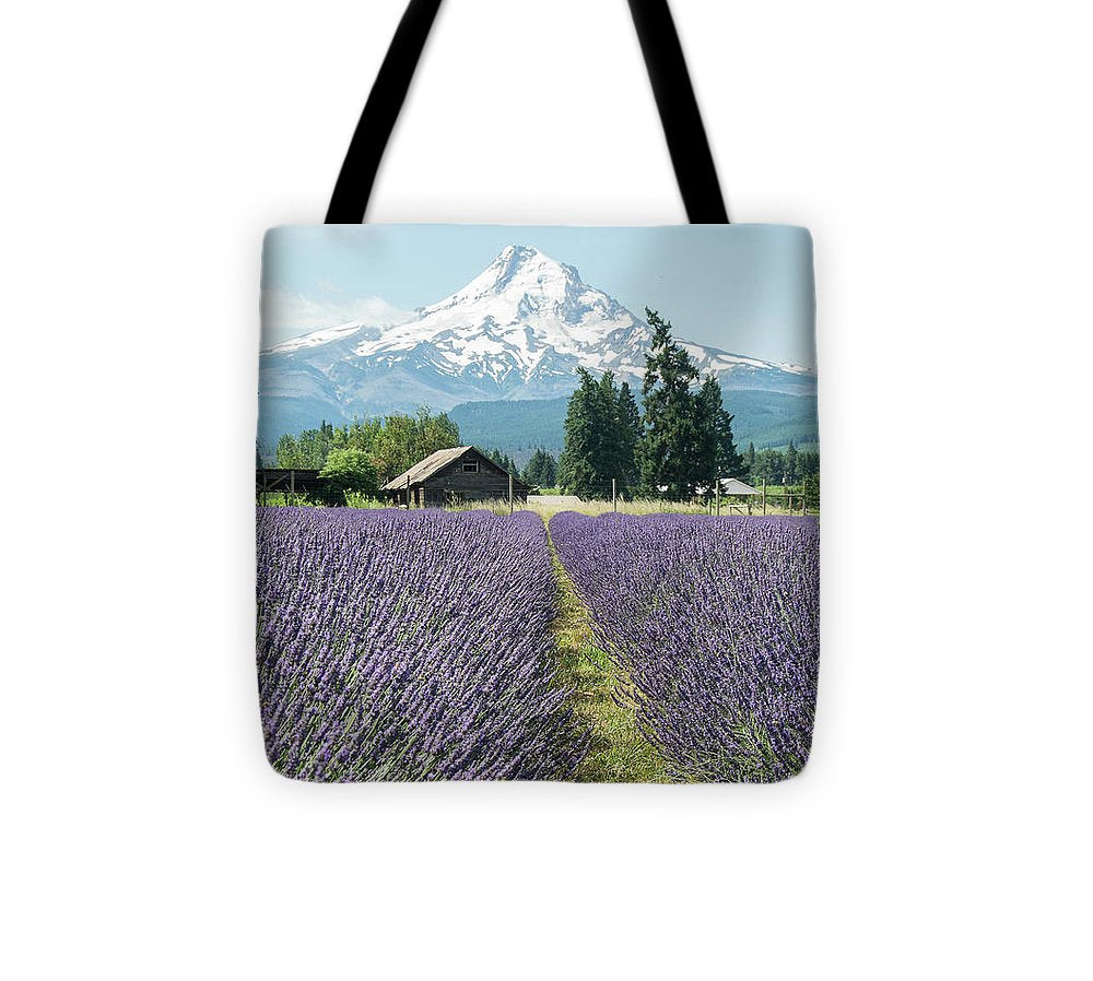 Oregon Lavender Fields - Tote Bag