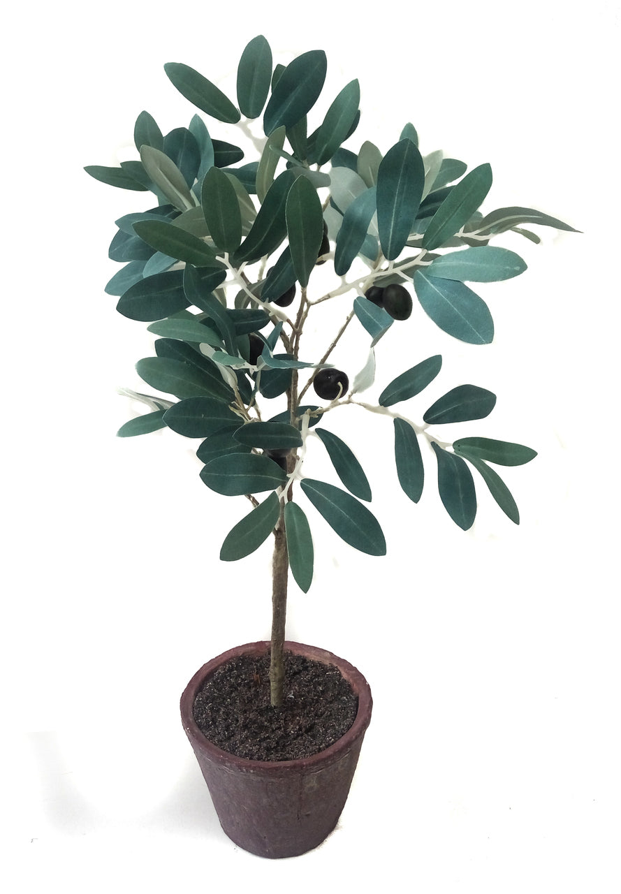 "18"" faux olive tree"