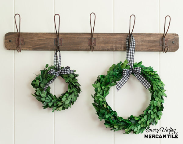 preserved boxwood wreath