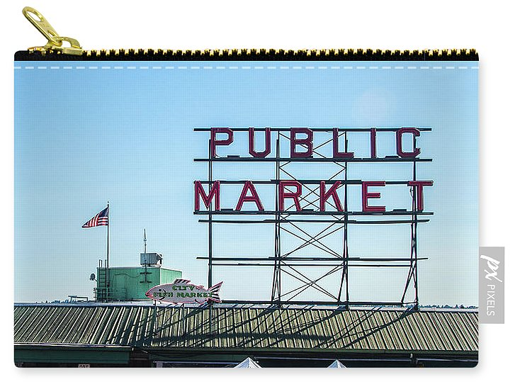 Seattle Pike Place Market - Carry-All Pouch