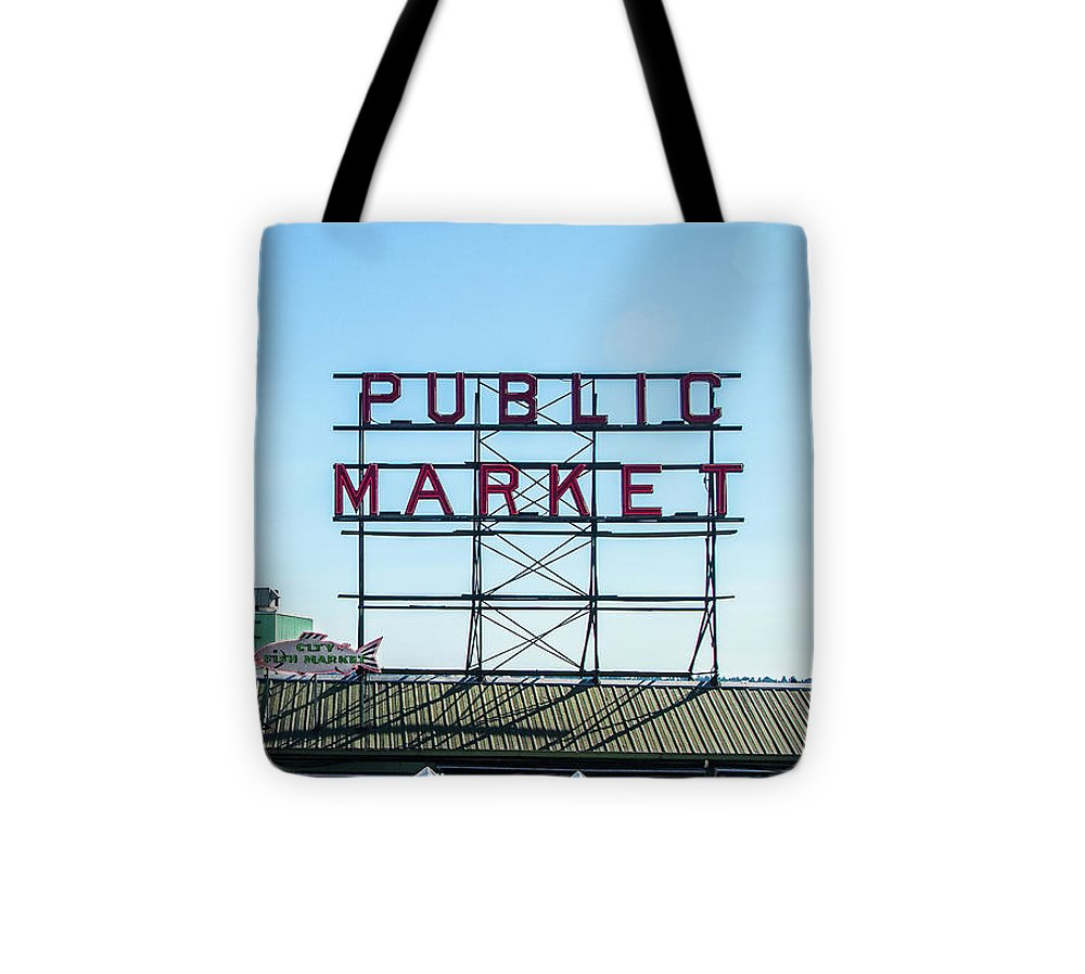 Seattle Pike Place Market - Tote Bag