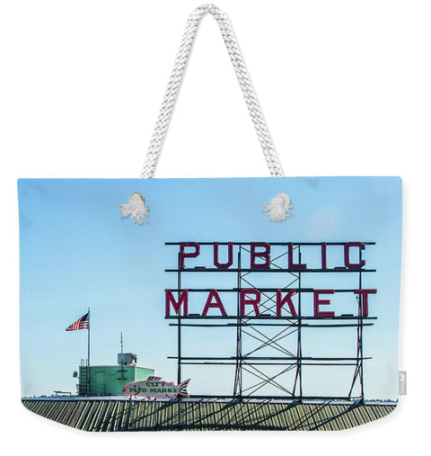 Seattle Pike Place Market - Weekender Tote Bag