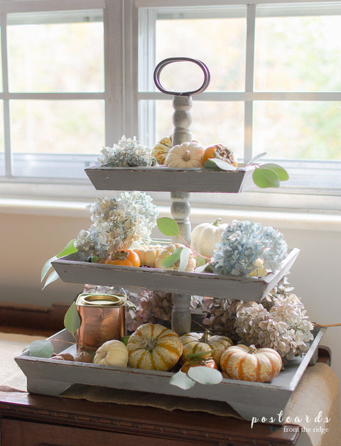 Katherine 3 tier serving tray stand