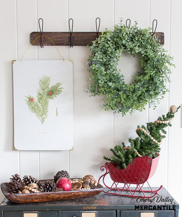 baby eucalyptus wreath