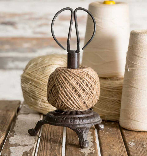 vintage style farmhouse twine and garden scissors