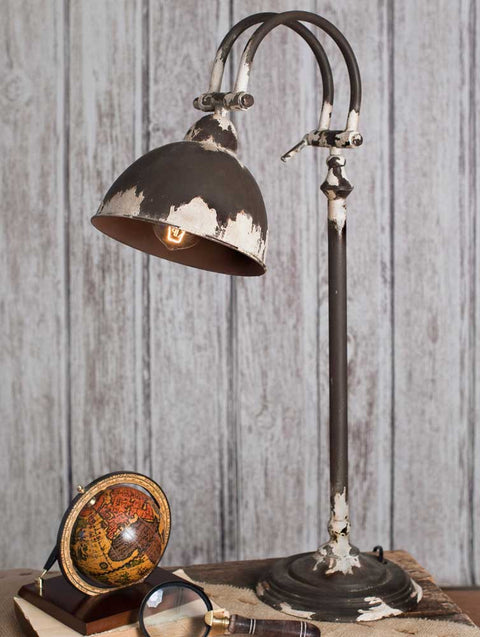 farmhouse style metal table lamp lighting