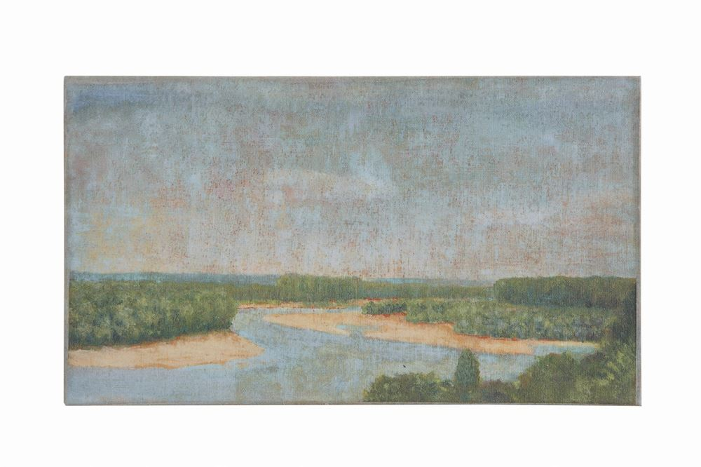 Low Country River Landscape Canvas Wall Decor