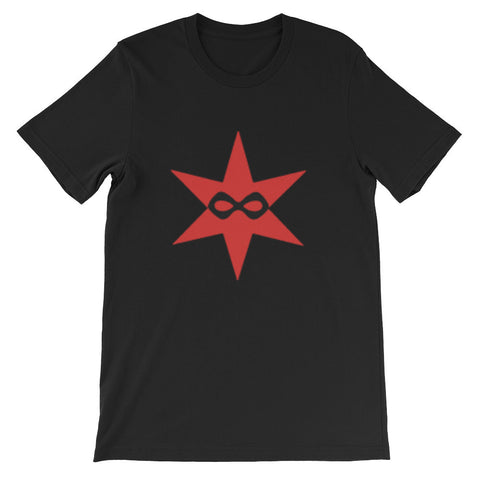 Chicago Star Masked - Unisex short sleeve t-shirt