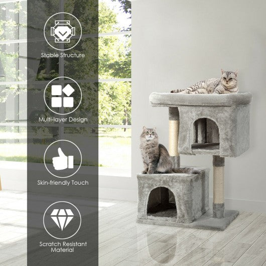 Luxury Cat Tree Cat Tower for Large Cats