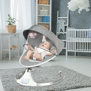 Baby Swing Electric Rocking Chair with Bluetooth Music Timer