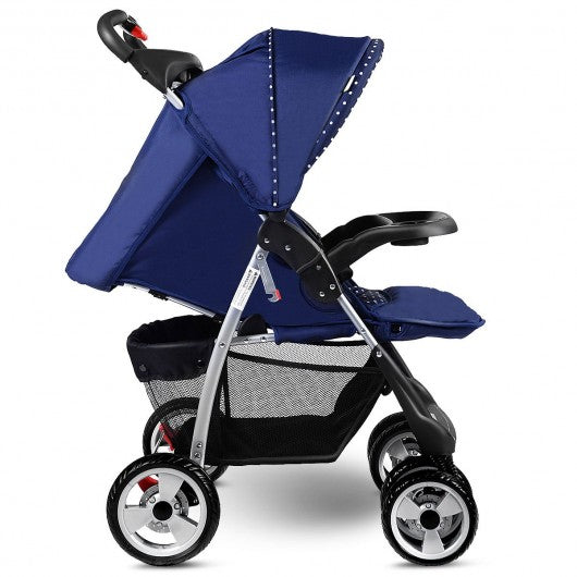 Foldable Baby Kids Travel Stroller