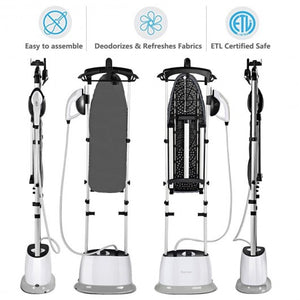 1600W Powerful Fast Dual Heat Garment Cloth Steamer